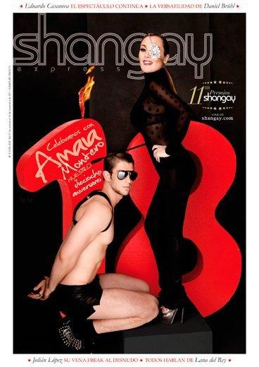 Amaia Montero, ¿de dónde has sacado ese toque dominatrix de la revista Shangay?