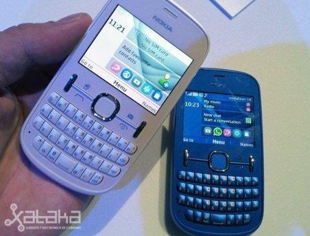 Nokia Asha 200 y Asha 201, toma de contacto