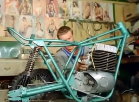 Un homenaje al motocross de los 60