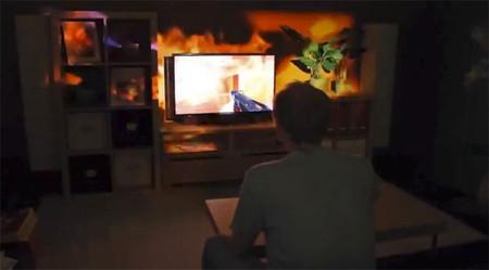 Microsoft continúa promocionando IllumiRoom frente a la llegada de la nueva Xbox