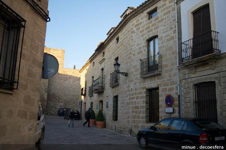 Un ejemplo de buena restauración, hotel La Casona del Arco en Baeza
