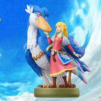 El nuevo amiibo de The Legend of Zelda: Skyward Sword HD no solo es precioso, en el juego te permite teletransportarte desde donde quieras