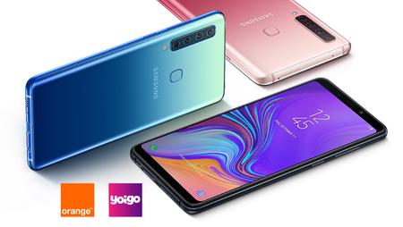 Samsung Galaxy A9 llega al catálogo de Orange y Yoigo: tarifas y precios a plazos