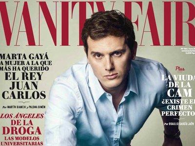 Albert Rivera para Vanity Fair, o de cómo las revistas en España se copian a las demás