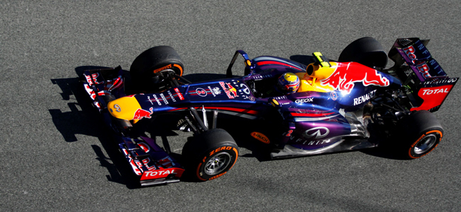 Red Bull RB9 Jerez 2013 Mark Webber