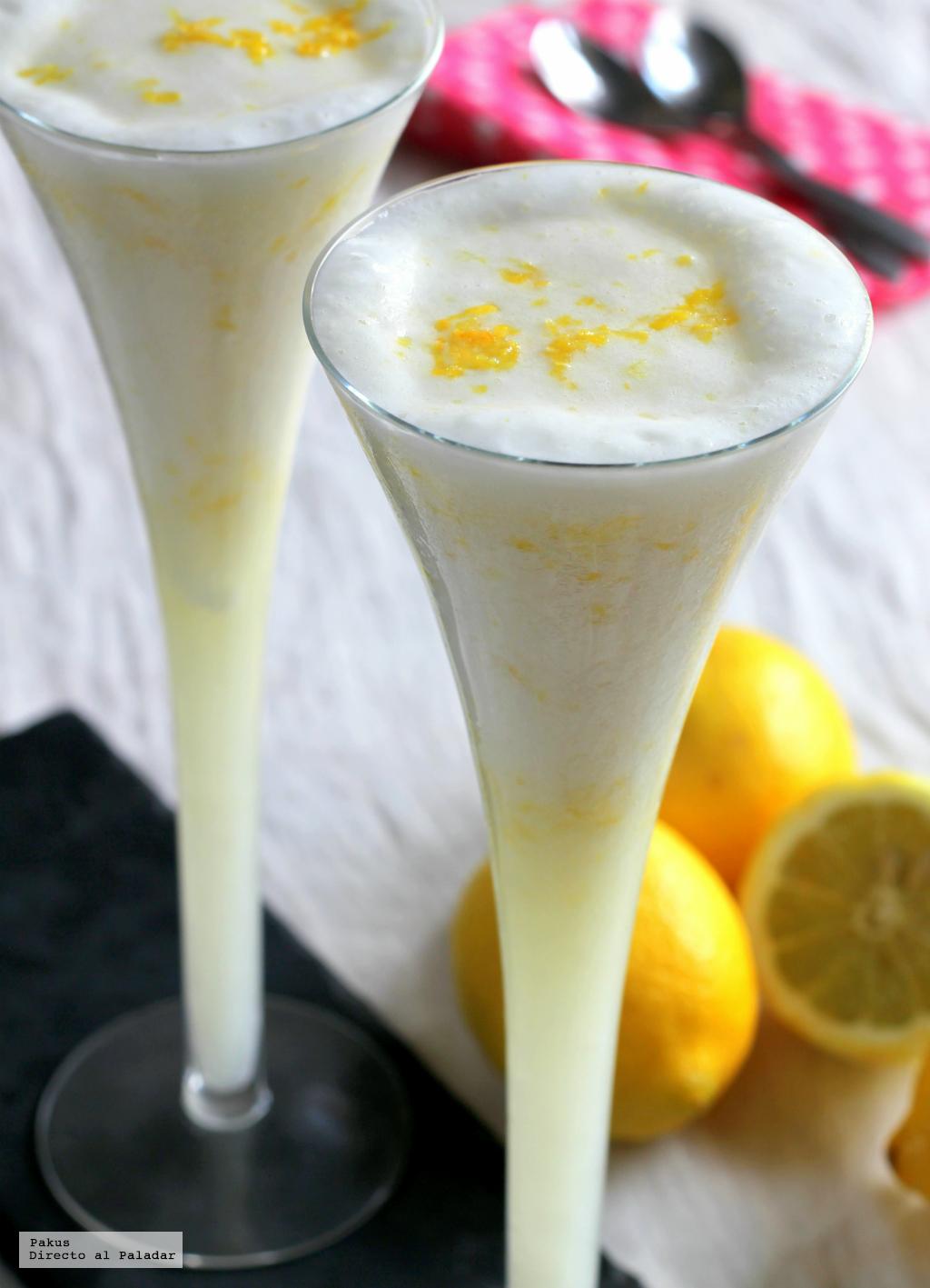 Sorbete de lim n - Sorbete limon al cava ...