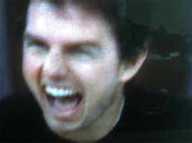 Tom Cruise al borde de un ataque de nervios