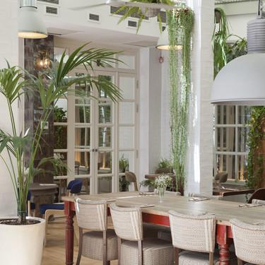 Reforma en tiempo récord para el restaurante y los baños del Hotel Pulitzer Barcelona