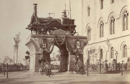 La Mataro Plaza Universidad Barcelona 1878