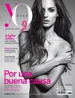 Ariadne Artiles para Yo Dona: desnuda y solidaria