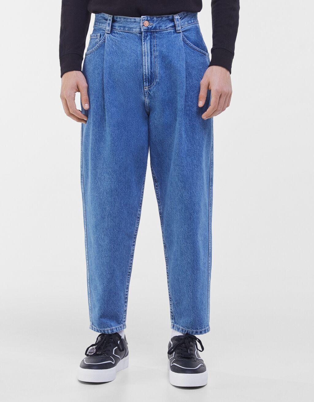 Jeans de corte balloon