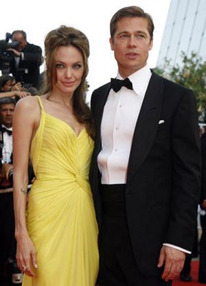 Brad Pitt y Angelina Jolie vuelven a deslumbrar en la alfombra roja de Cannes