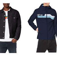 Chollos en tallas sueltas de chaquetas para hombre Tommy Hilfiger, Levi's, Jack & Jones o Columbia en Amazon