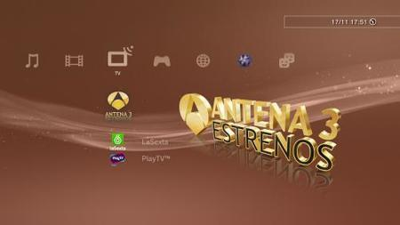 Ya podemos ver canales españoles en la Playstation 3
