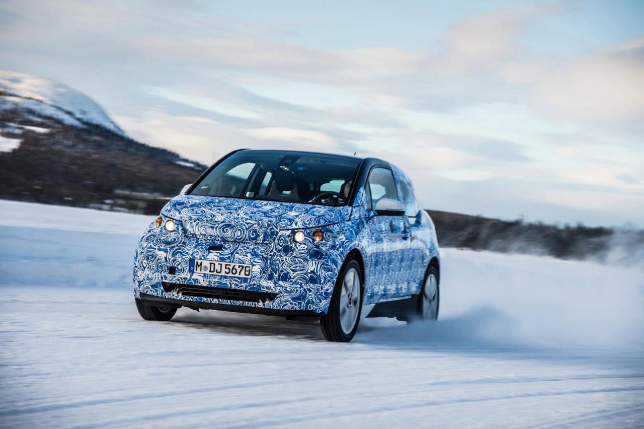 Foto de BMW i3, fotografías en el Círculo polar ártico (1/5)