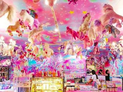 El 'Unicorn Cafe' de Bangkok: azúcar, unicornios y ponis