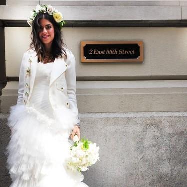 Así vistieron las instagrammers más influyentes del mundo el día de su boda
