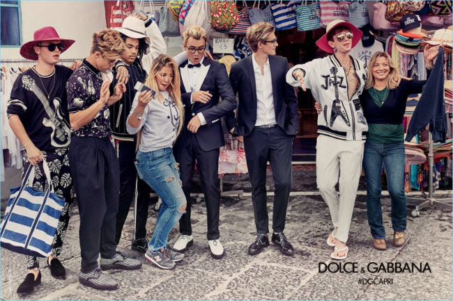 Dolce Gabbana 2017 Spring Summer Mens Campaign 002