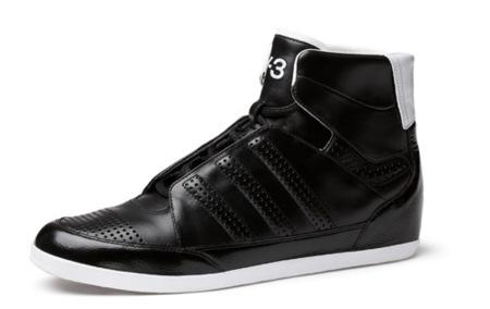 Zapatillas Honja Hi de Y-3, en blanco y negro