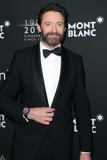 Hugh Jackman y Matthew Morrison se lo pasaron pipa con las modelos de Victoria's Secret en el 110 aniversario de Montblanc