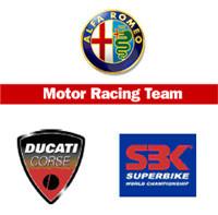 Alfa Romeo, patrocinador del Mundial de Superbikes y Ducati Corse