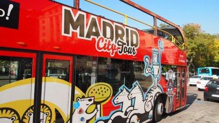 Los autobuses turísticos de Madrid City Tour tendrán WiFi gratis