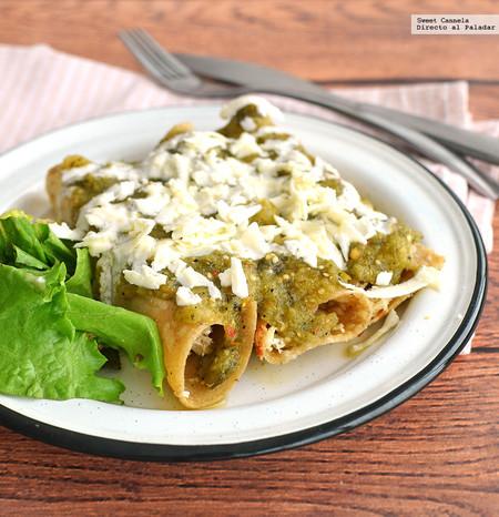 Tacos Dorados Salsa Verde