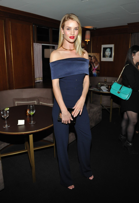 Rosie Huntington Whiteley Attends The Hollywood Reporter And Jimmy Choo S Power Stylist Dinner
