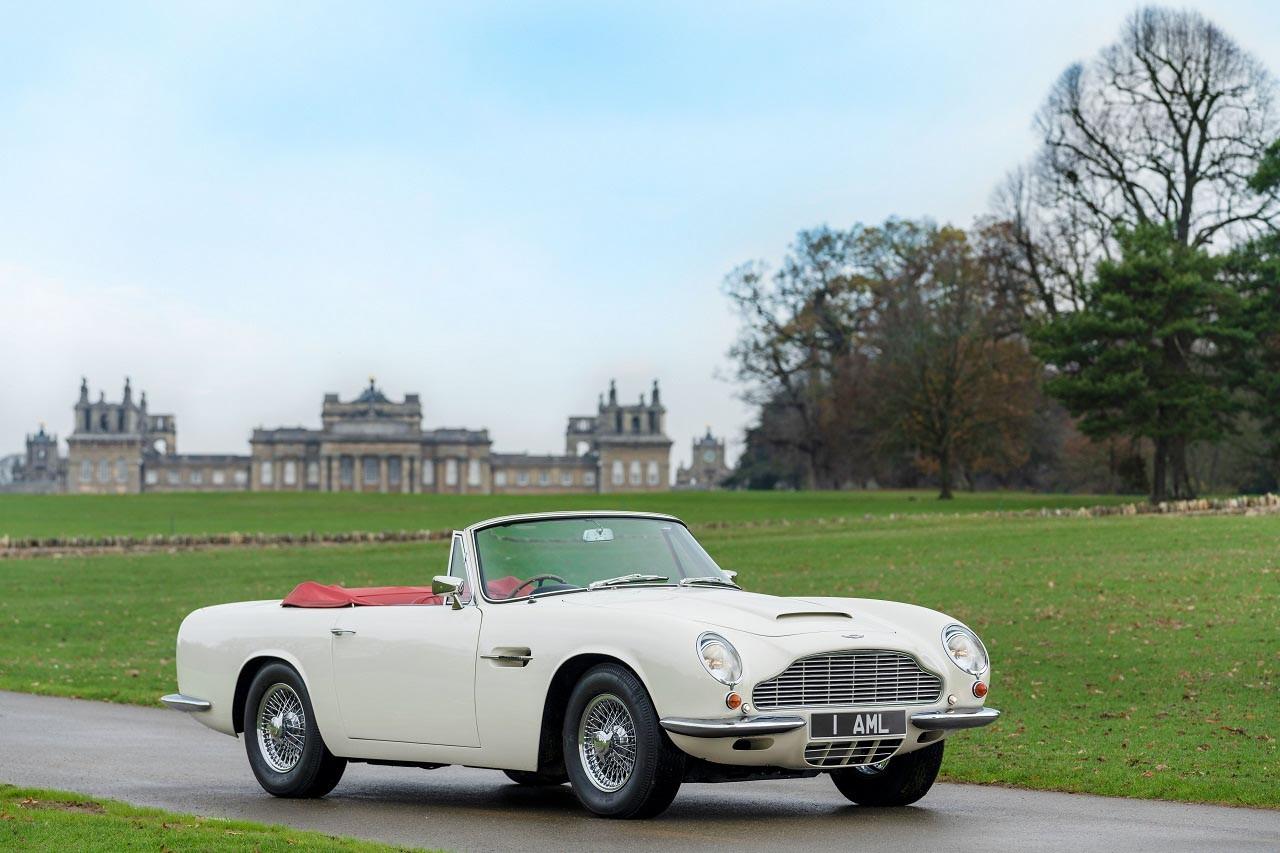 Foto de Aston Martin convierte tu auto clásico en un coche eléctrico (1/15)