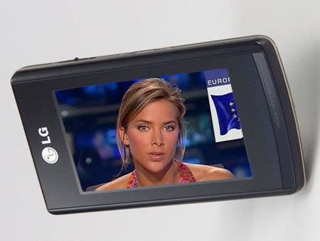 Reproductor LG T80 con televisión en España