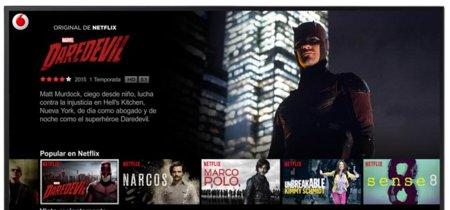 Netflix encuentra socio para su lanzamiento en España: Vodafone TV
