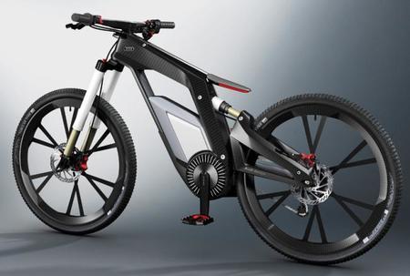 Audi nos pone los dientes largos con una bicicleta eléctrica con asistencia para hacer caballitos