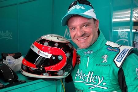 Rubens Barrichello con Sauber en el Gran Premio de Brasil. ¿El rumor gracioso del día?