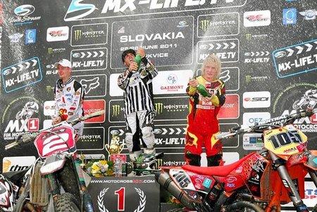 Nueva victoria para Julien Bill en el MX3 de Eslovaquia