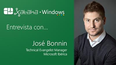 """Hablamos con José Bonnin, evangelista técnico en Microsoft: """"la pregunta es cuándo desarrollar para Windows, y la respuesta es ya"""""""