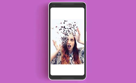 Cómo hacer las fotos con efecto dispersión o explosión de píxeles que inundan las redes sociales