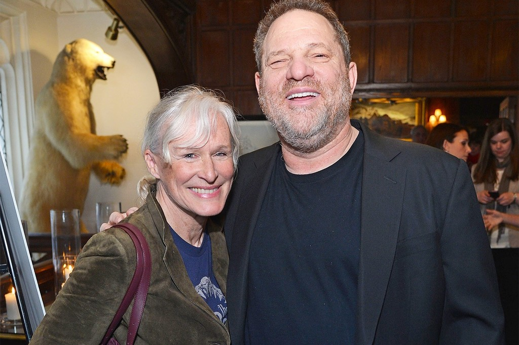 Glenn Close Harvey Weinstein