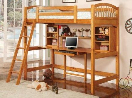 dormitorio compacto madera