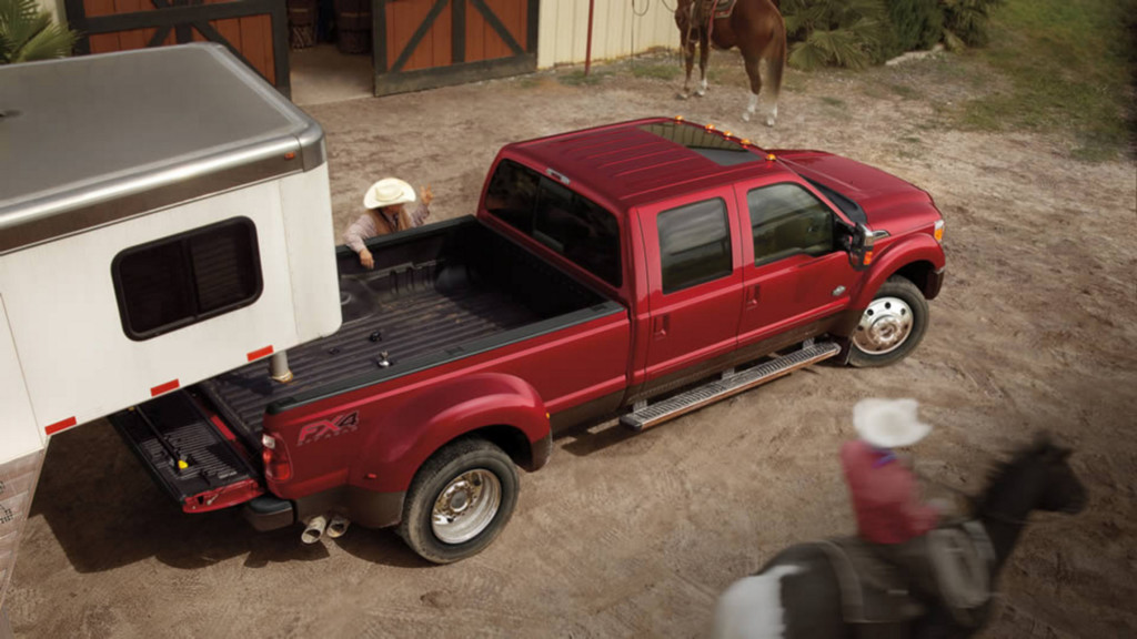 Ford Super Duty Remolque
