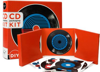 Convierte tus CD en vinilos con este kit de decoración