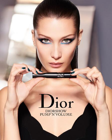 Bella Hadid se convierte en la nueva musa del maquillaje Dior