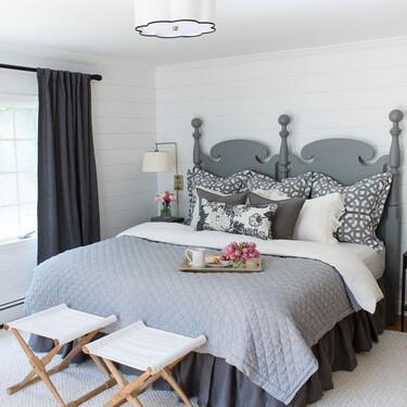 Antes y después: un dormitorio que se renueva con cambios en mobiliario y paredes que pueden ser DIY