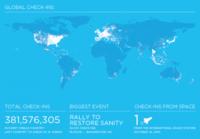 El impresionante crecimiento de Foursquare: un 3400% en un solo año