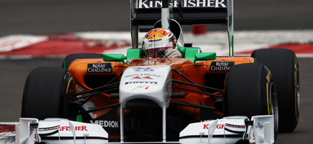 Adrian Sutil se prepara para una posible prueba con Force India en Barcelona