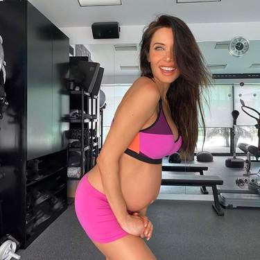 Estos son los ejercicios aeróbicos, de fuerza y flexibilidad con los que Pilar Rubio adaptó su entrenamiento durante el embarazo