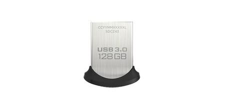 Almacenamiento extra en tu portátil o en tu bolsillo, con el Sandisk Ultra Fit de 128 GB, hoy por 34,90 euros en Amazon