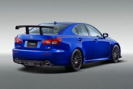 Lexus IS F Circuit Club Sport Package, más radical