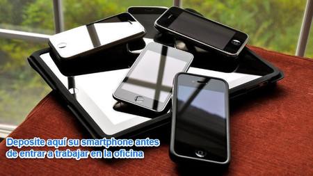 ¿Se puede luchar contra el uso del smartphone privado en el trabajo?