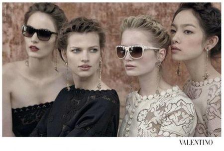 Colección de gafas primavera verano de Valentino