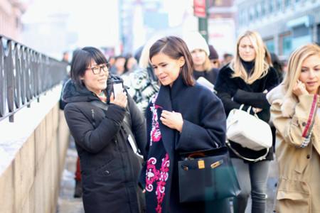 Street Style Semana de la Moda de Nueva York: el cotarro de las rusas